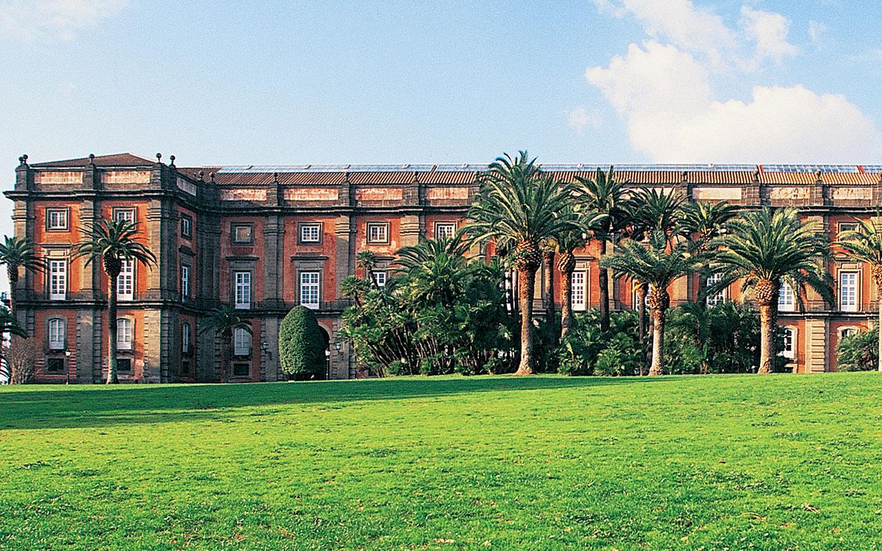 La fotografia mostra l'esterno del Museo di Capodimonte