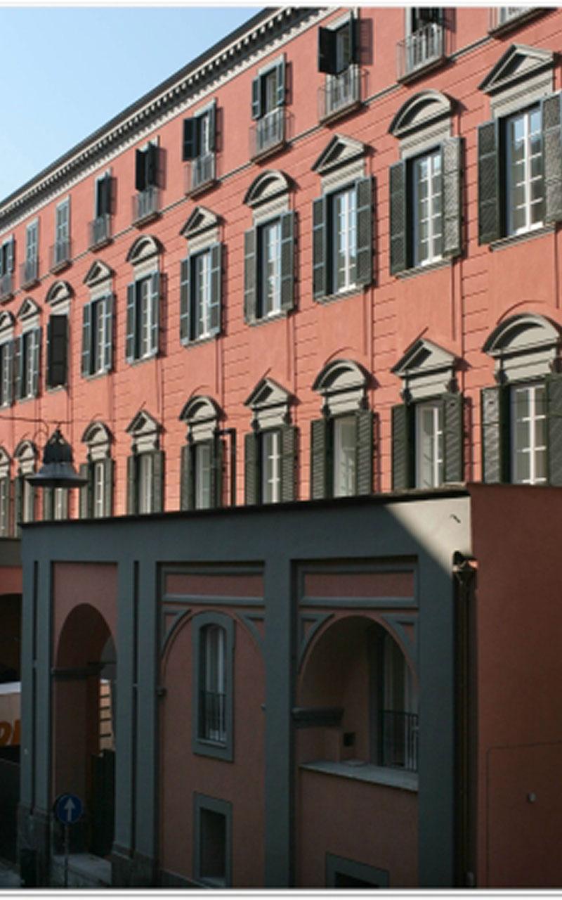 Il Palazzo Roccella ospita il PAN Palazzo delle Arti di Napoli