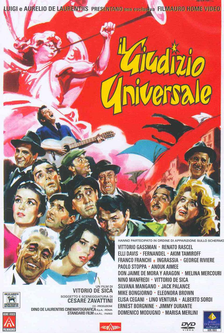 Il giudizio universale è un film diretto da Vittorio De Sica nel 1961