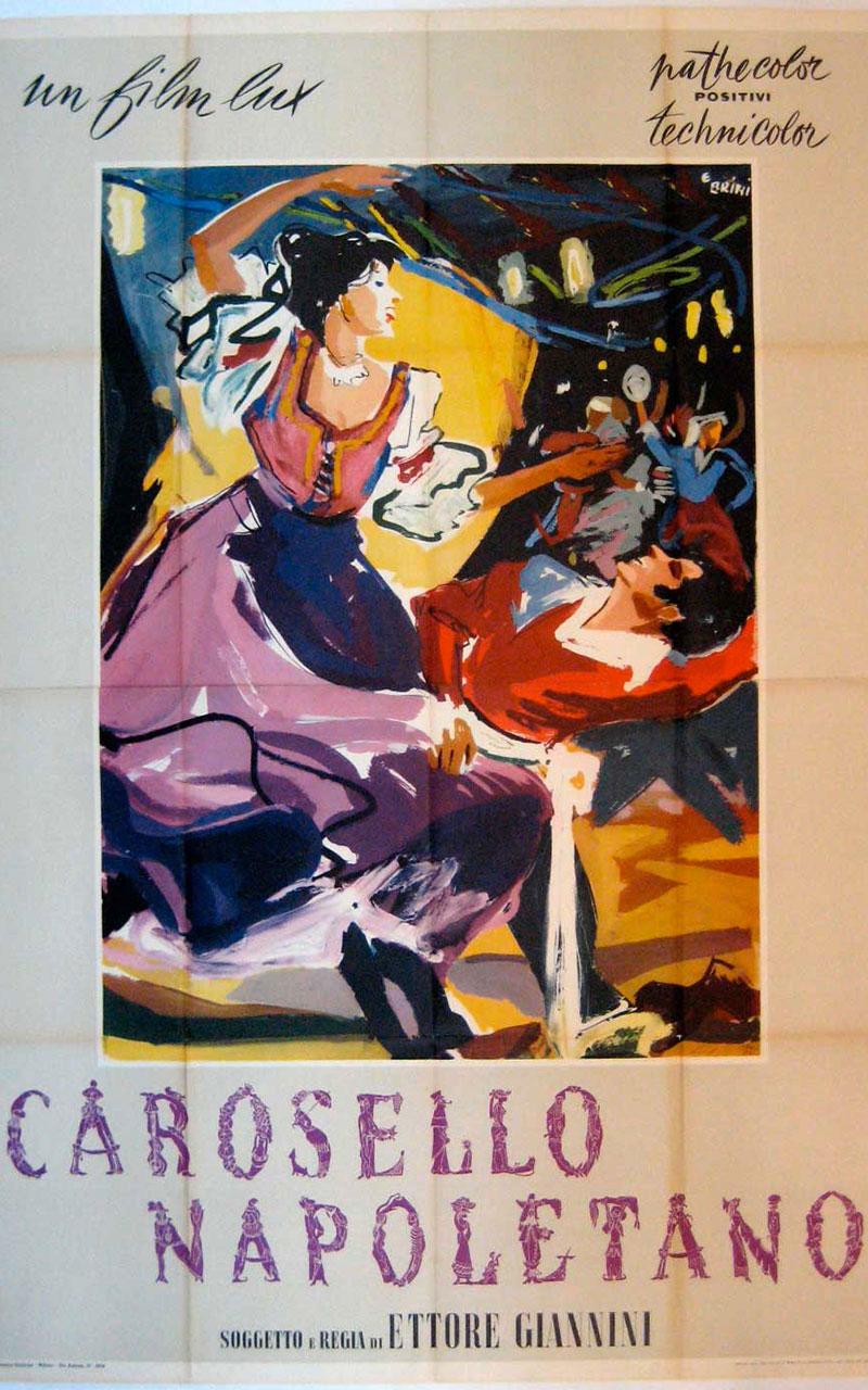 Il film Carosello napoletano è del regista Ettore Giannini
