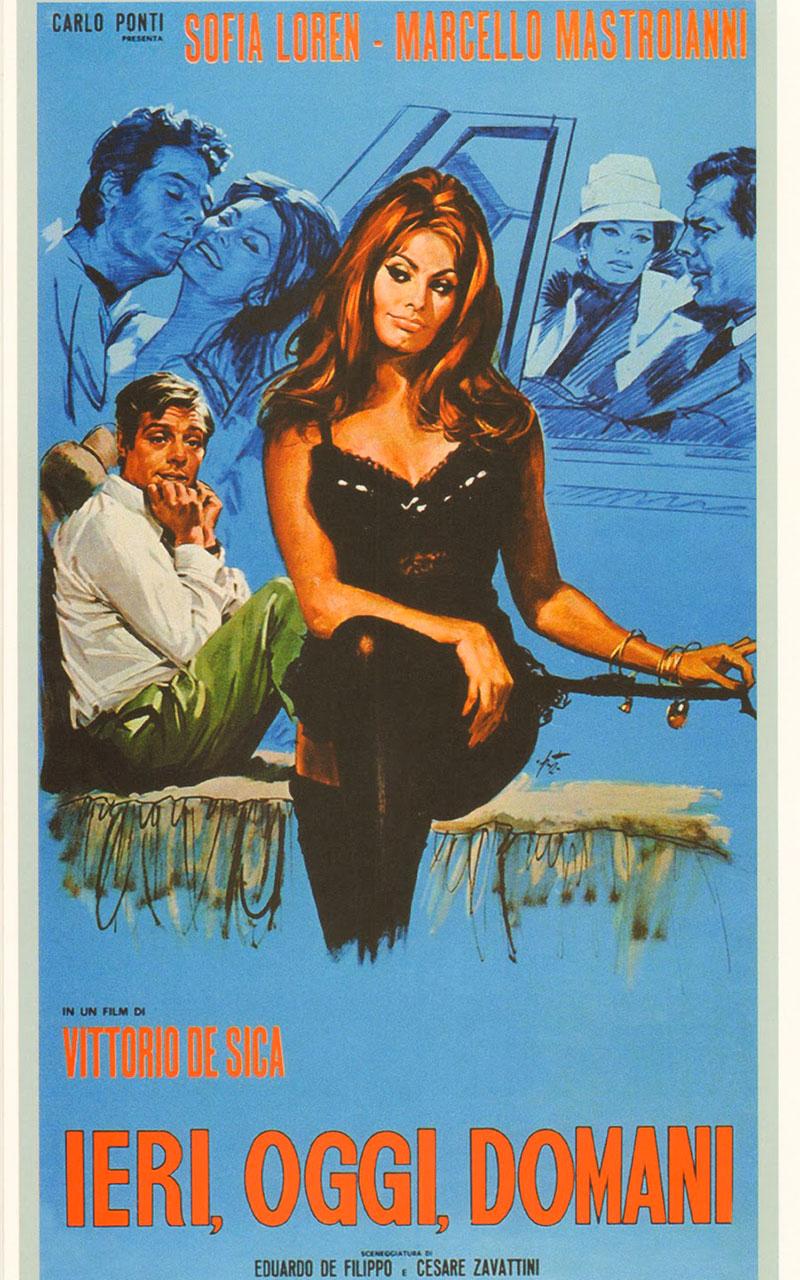 Ieri, oggi, domani è un film diretto da Vittorio De Sica nel 1963