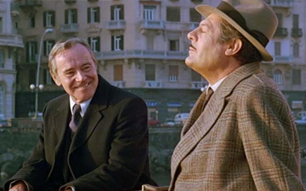 Una location del film Maccheroni di Ettore Scola è nei pressi dell'Archivio Storico del Banco di Napoli. Il film ha come protagonisti Marcello Mastroianni e Jack Lemmon