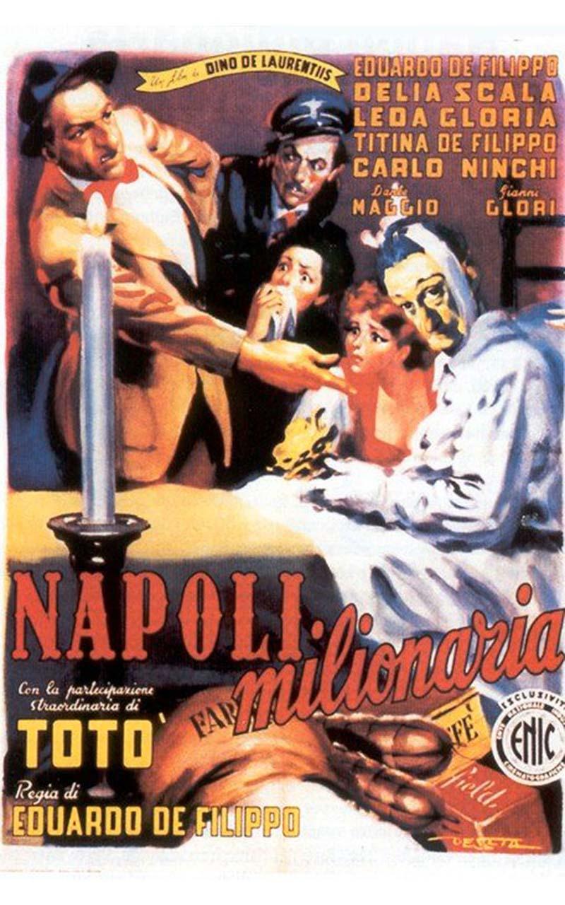 Napoli milionaria è un film diretto e interpretato da Eduardo De Filippo. Tra gli attori del film si segnala Totò