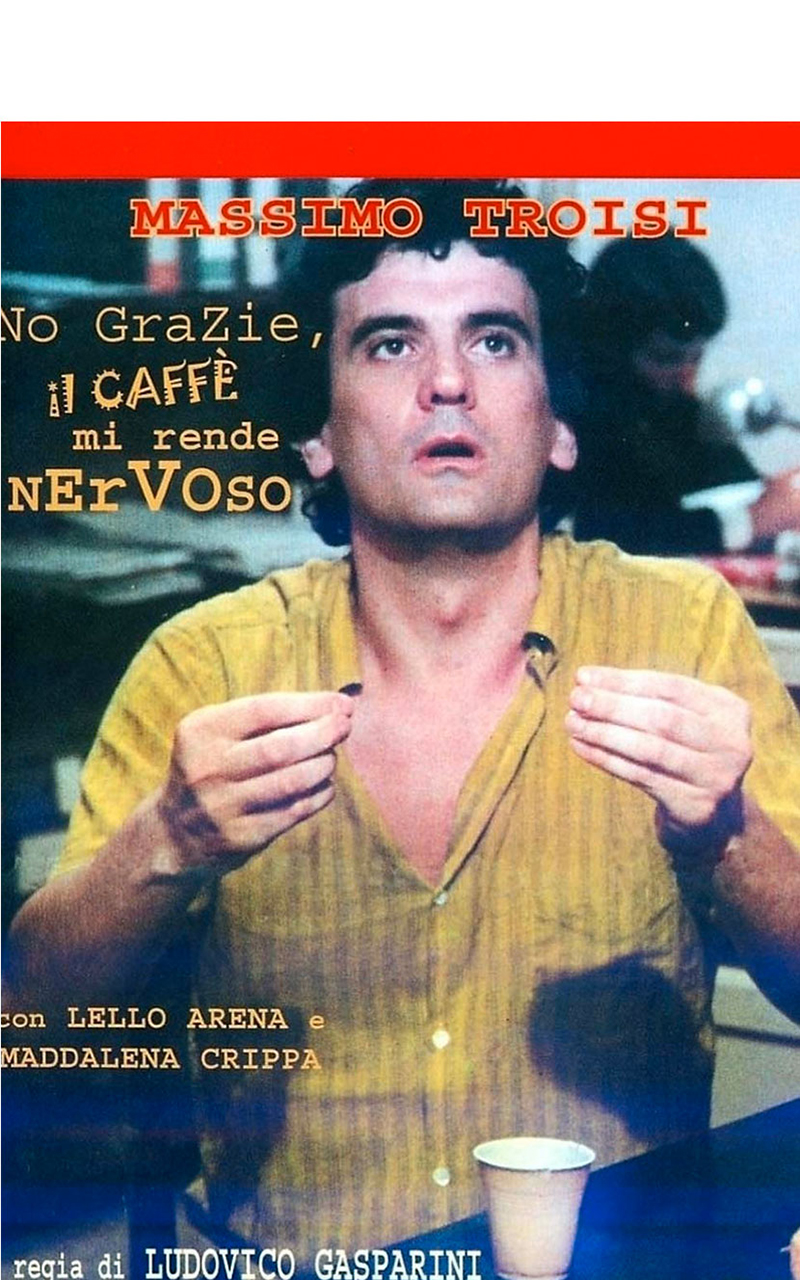 No grazie, il caffè mi rende nervoso è un film diretto dal regista Ludovico Gasparini con protagonisti Massimo Troisi e Lello Arena