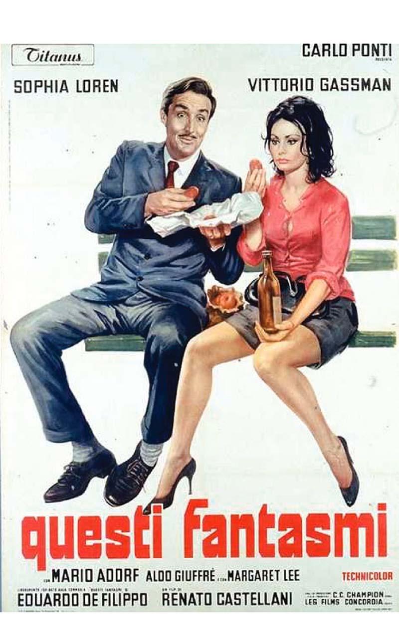 Questi fantasmi è un film diretto dal regista Renato Castellani con protagonisti Sofia Loren e Vittorio Gassman