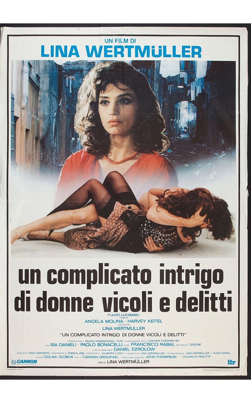 Lina Wertmuller è la regista del film Un complicato intrigo di donne, vicoli e delitti