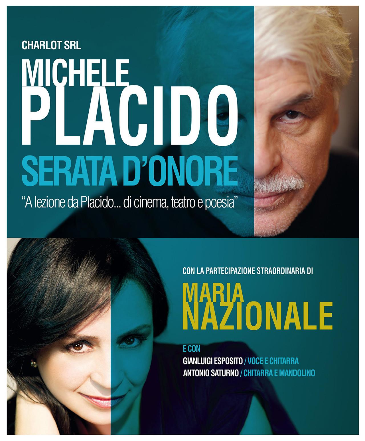 serata d'onore con Michele Placido e Maria Nazionale