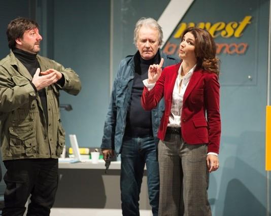 Corrado Tedeschi e Tosca D'Aquino al Teatro Cilea