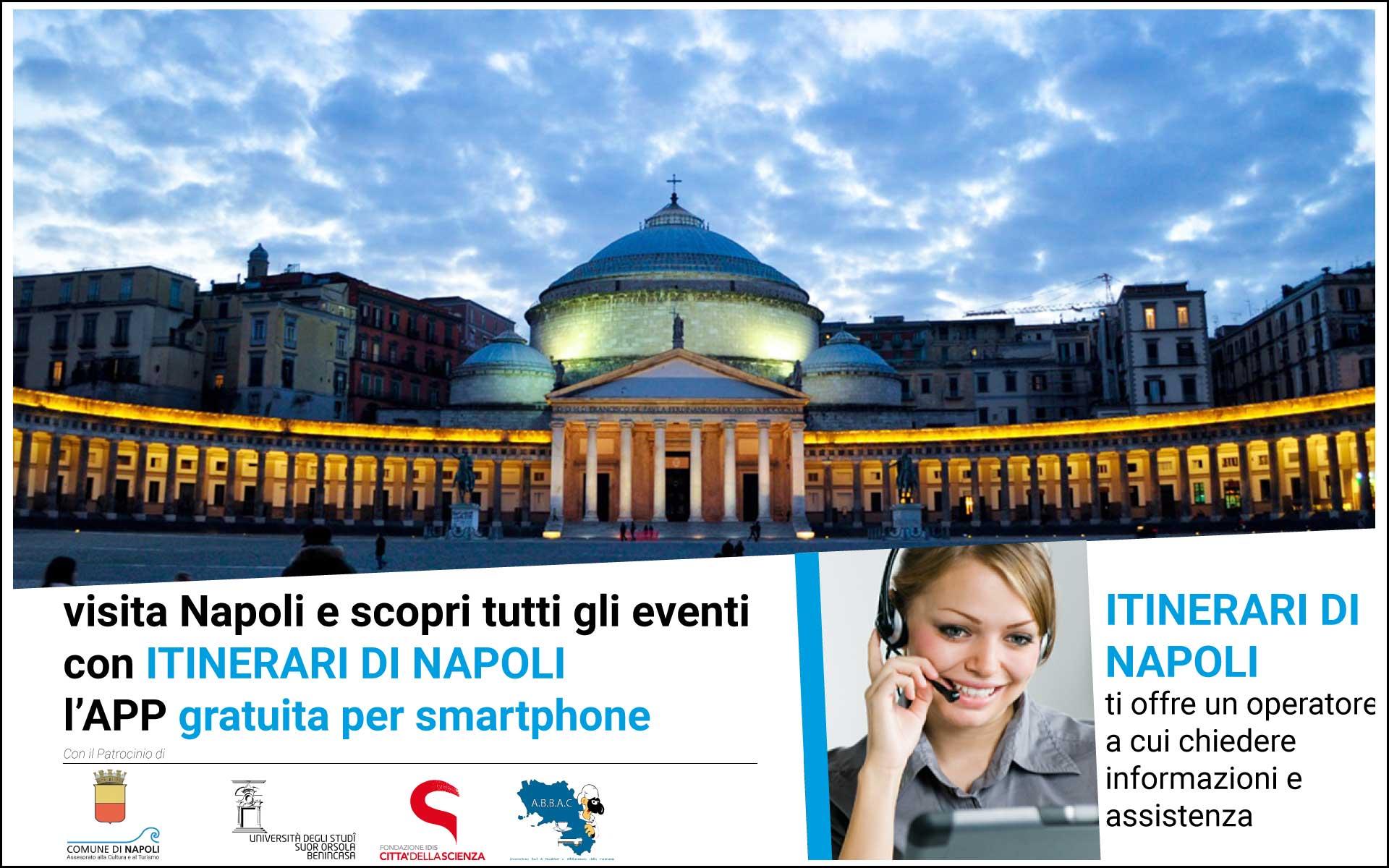 Itinerari Di Napoli - l'applicazione gratuita per visitare Napoli in sicurezza -