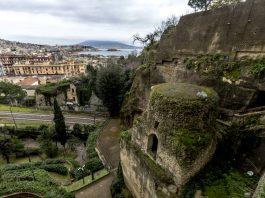 Veduta dall'alto della Tomba di virgilio