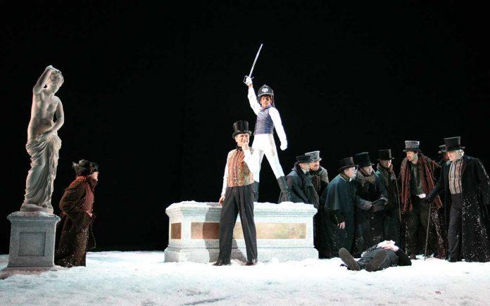 Masquerade per la regia di Rimas Tuminas al Mercadante di Napoli