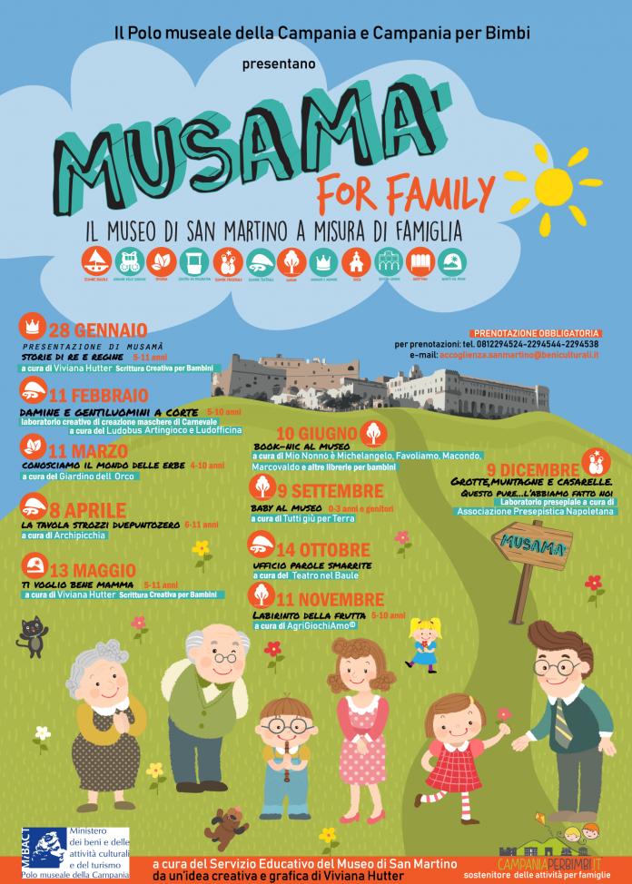 Musamà for Family - Il Museo di San Martino a misura di famiglie
