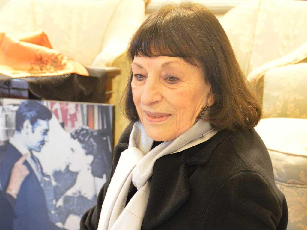 Anna Maria Ackermann voce recitante in Musica & Poesia tra Grecia e america