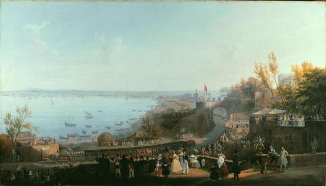 La prima linea ferroviaria inaugurata a Portici nel 1839 da Federico II