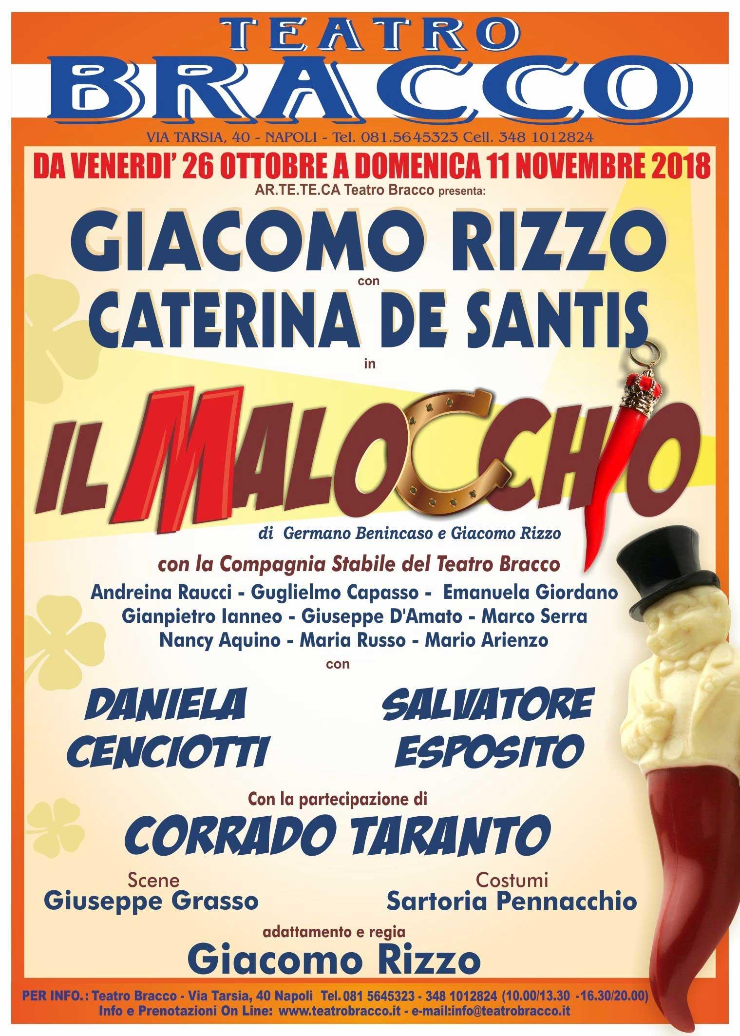 Il Malocchio con Giacomo Rizzo e Caterina De Santis
