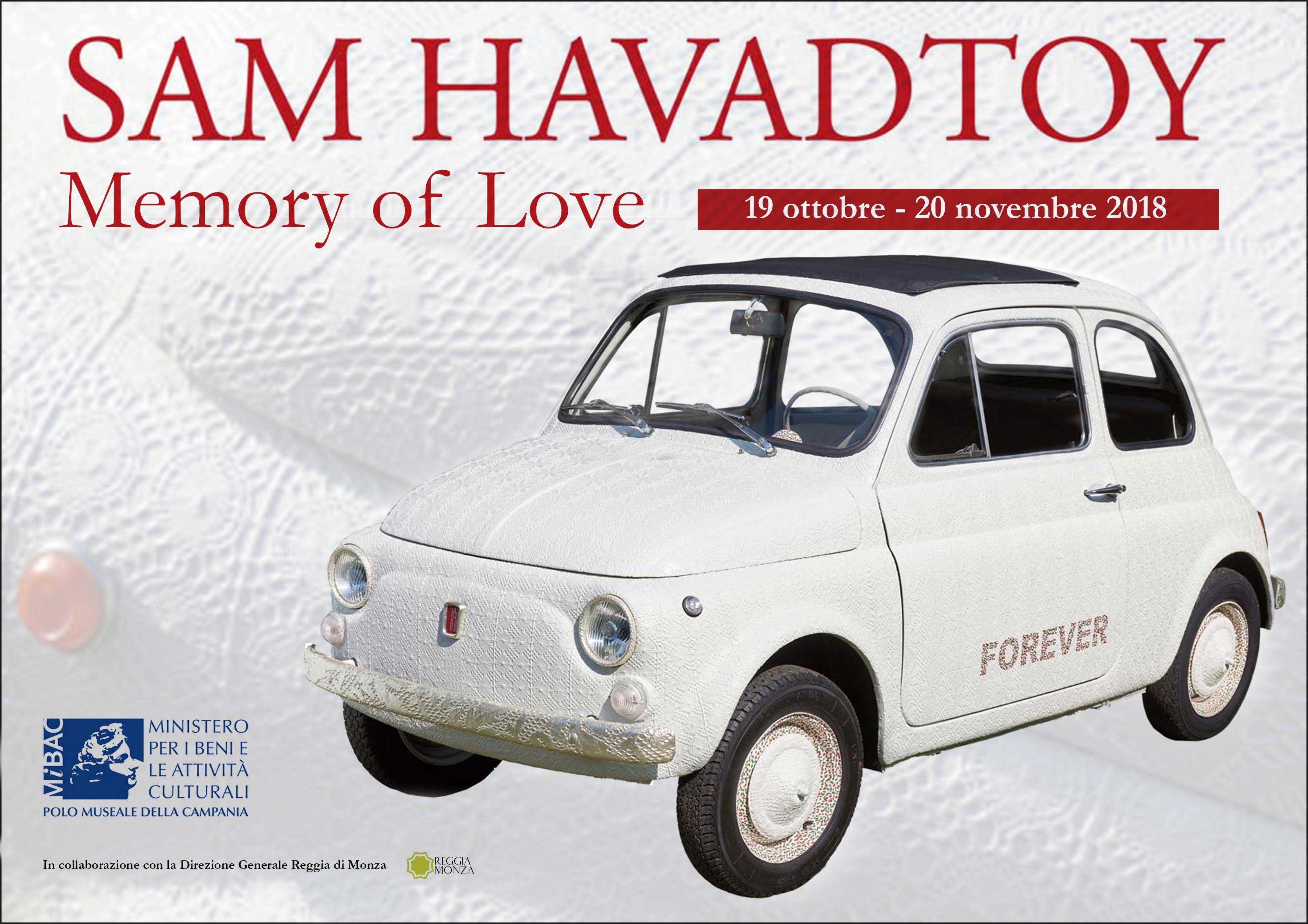 Memory of Love di Sam Havadtoy fino al 20 novembre