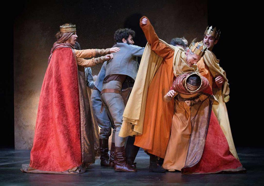 Dal26 febbraioal3 marzo va in scena alTeatro Mercadante ENRICO IVdi Luigi Pirandello