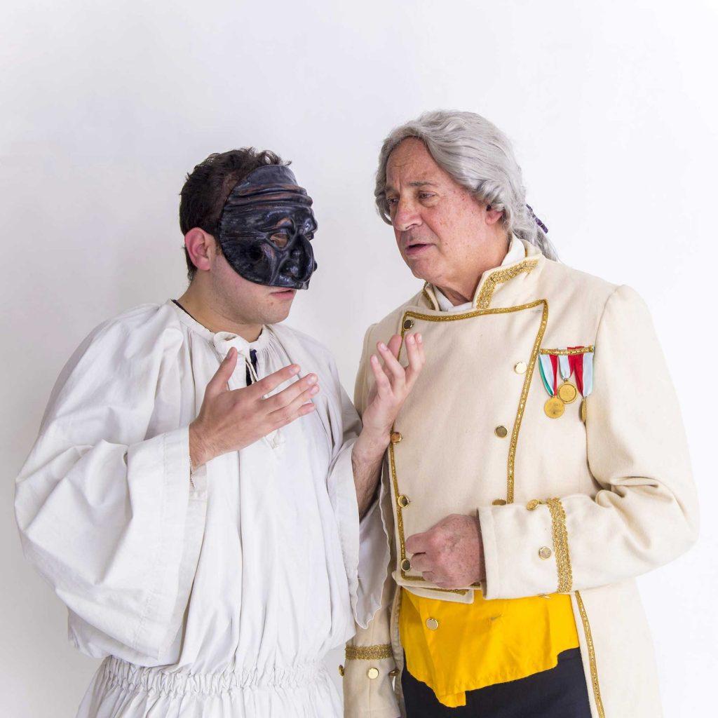 re ferdinando di borbone e pulcinella al teatro bolivar il 6 e 7 aprile
