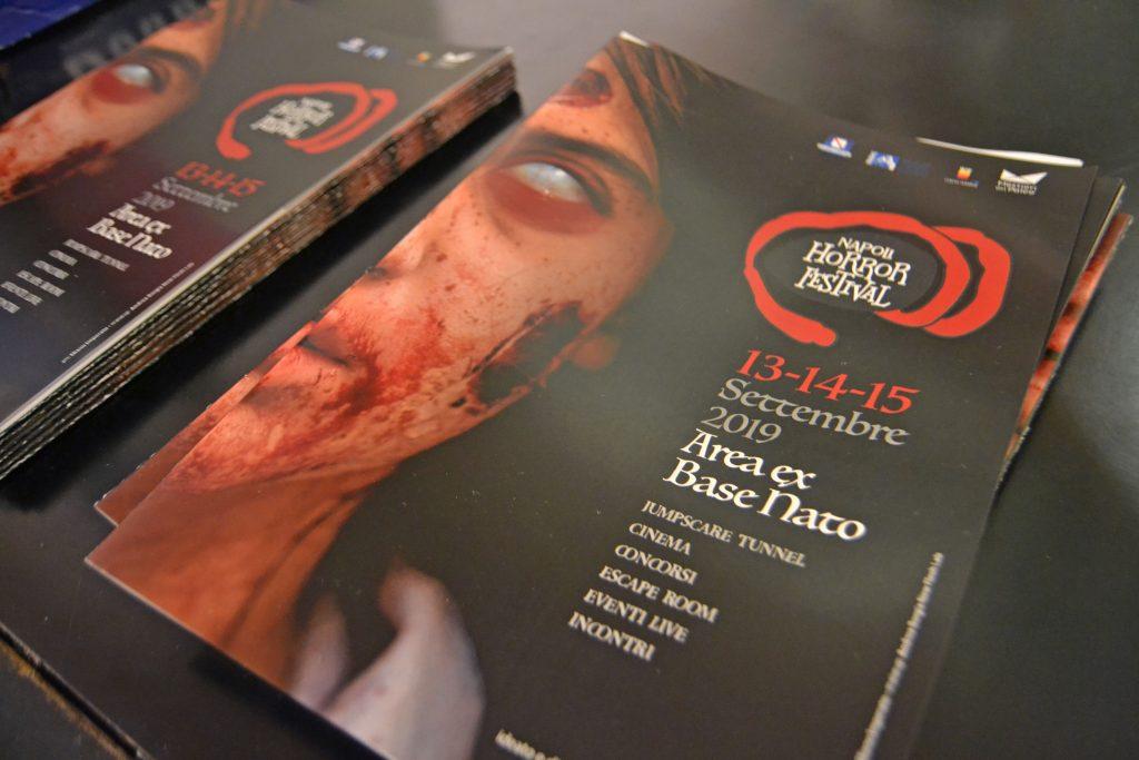 Napoli Horror Festival dal 13 al 15 settembre presso l'ex Base Nato di Bagnoli