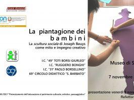La piantagione dei bambini dal 7 novembre all'8 dicembre alla Certosa e Museo di San Martino