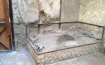 ritrovati frammenti di cervello durante gli scavi nell'antica Ercolano
