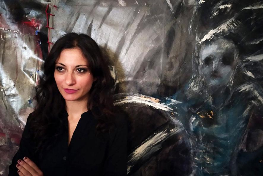 Luisa corcione regista di Olimpia in scena a Palazzo Reale
