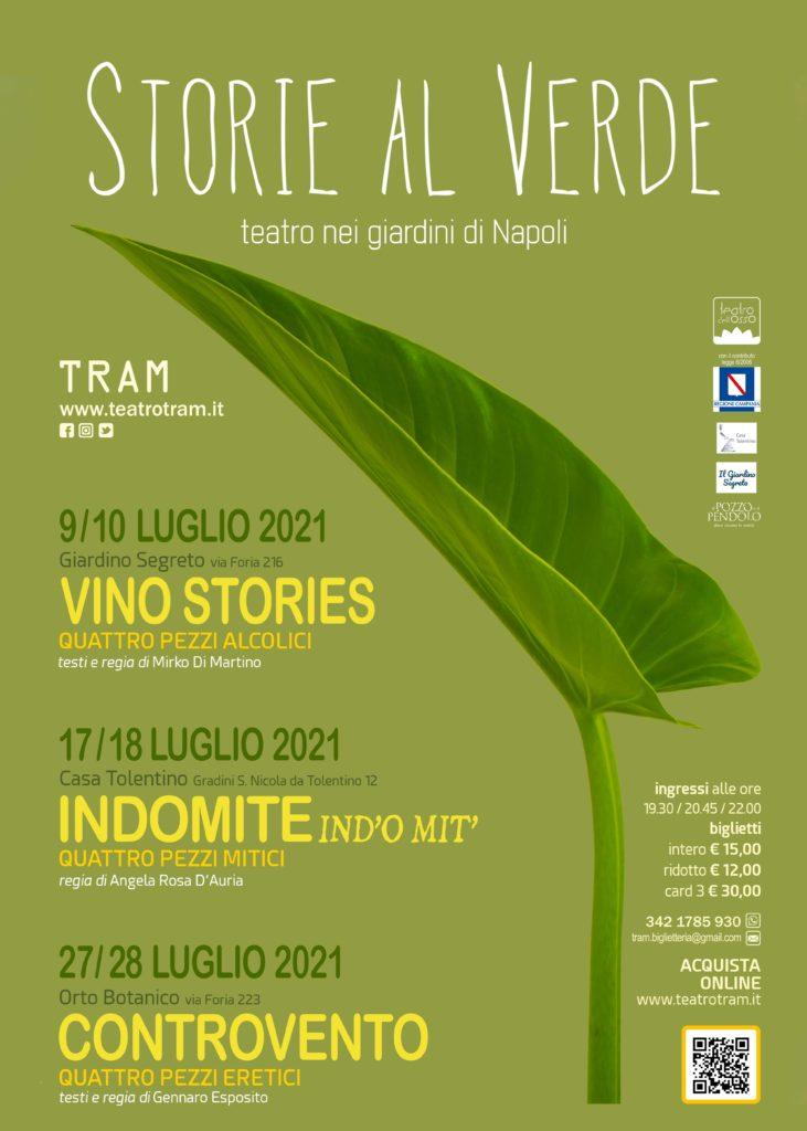 Storie al Verde. Un progetto del Teatro Tram