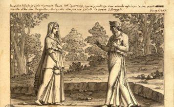 Divina Commedia illustrazione del Macchiavelli